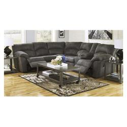 ASHLEY TAMBO PEWTER RECLINING SECTIONAL 27880148/2780149 Image